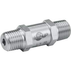 MP-283 Small Size Fixed Pressure Check Valves (Male Threaded)
